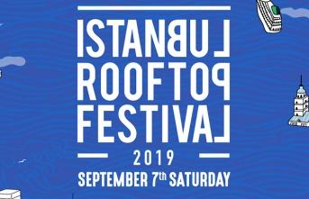İstanbul Rooftop Festival, 7 Eylül'de İstanbullularla...