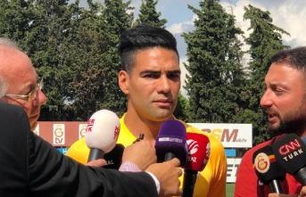 """Falcao; """"Galatasaray'ı seçtim, çünkü..."""""""