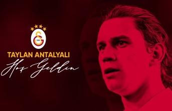 Taylan Antalyalı Galatasaray'da! İşte KAP...
