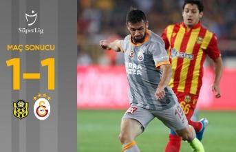 Yeni Malatyaspor 1-1 Galatasaray