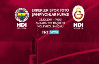 2019 Spor Toto Erkekler Şampiyonlar Kupası Ankara'da...