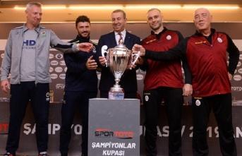 2019 Spor Toto Erkekler Şampiyonlar Kupası Basın...