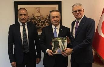 Ankara Fas Krallığı Büyükelçisi ve İstanbul...