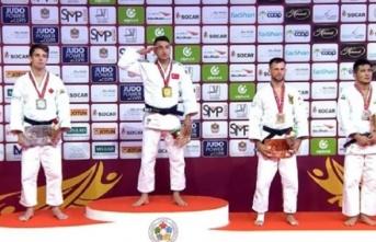 Bilal Çiloğlu Judo Grand Slam'de altın madalya...