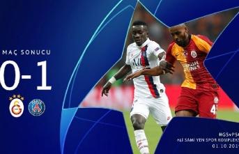 Galatasaray 0 - 1 Paris Saint-Germain