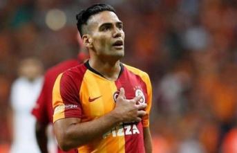 Galatasaray idmanında Radamel Falcao yer almadı