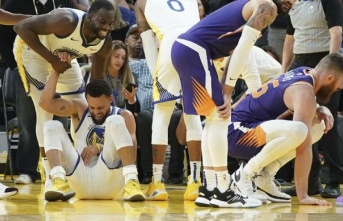Golden State Warriors'ta büyük şok! Stephen Curry'de...