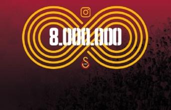 Instagram'da 8 milyon Aslan