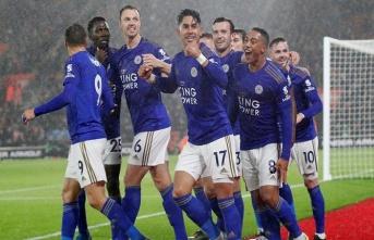 Leicester City'den 9 gollü tarihi galibiyet!