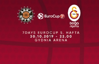 Maça doğru   Asseco Gdynia - Galatasaray Doğa Sigorta
