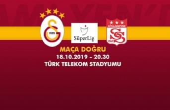 Maça doğru | Galatasaray – Demir Grup Sivasspor