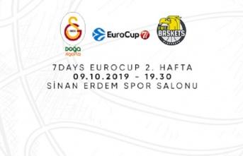 Maça doğru   Galatasaray Doğa Sigorta – EWE Baskets...