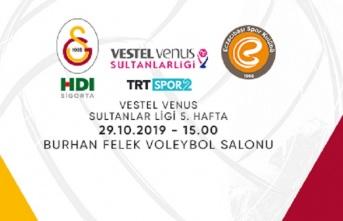 Maça doğru | Galatasaray HDI Sigorta - Eczacıbaşı...