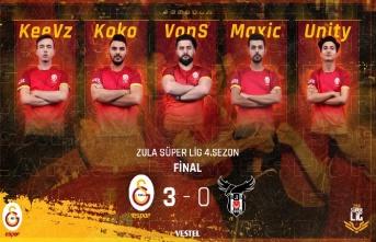 Şampiyon Galatasaray! Galatasaray Espor: 3 Beşiktaş:...