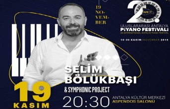 20. Uluslararası Antalya Piyano Festivali'nde bir...