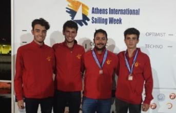 29. Atina Uluslararası Yelken Haftası'nda 1 gümüş...