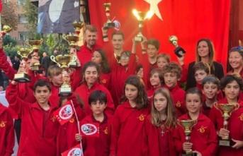29 Ekim Cumhuriyet Bayramı Kupası Yelken Yarışları'nda...