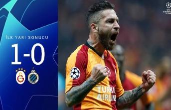 İlk yarı sonucu: Galatasaray 1-0 Club Brugge