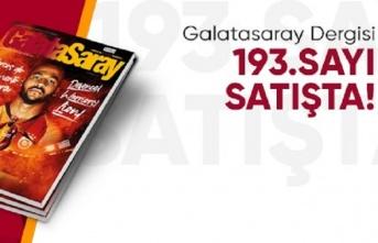 Galatasaray Dergisi'nin 193. sayısı GS Store'larda...