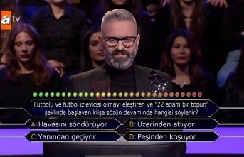 Kim Milyoner Olmak İster'de yarışmacı ilk soruda...