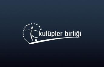Kulüpler Birliği'nin yeni başkanı Mehmet Sepil...