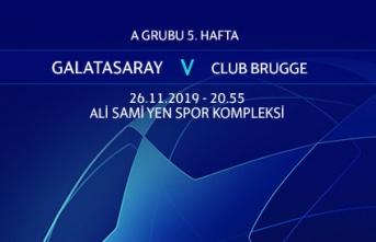 Maça Doğru   Galatasaray - Club Brugge