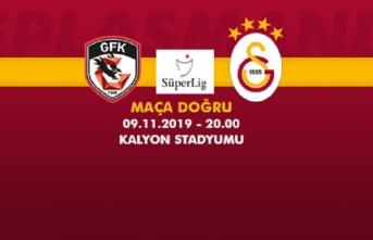 Maça Doğru   Gaziantep FK - Galatasaray