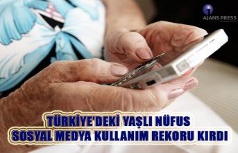 Türkiye'deki yaşlı nüfus sosyal medya kullanım...