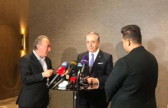 Galatasaray Başkanı Mustafa Cengiz'den flaş...