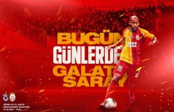 Galatasaray'ın Trabzonspor karşısında 11'i