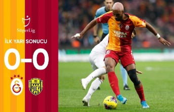 İlk yarı sonucu: Galatasaray 0-0 MKE Ankaragücü