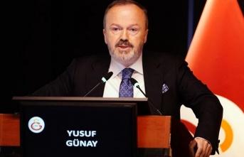Galatasaray Başkan Yardımcısı Yusuf Günay'dan...