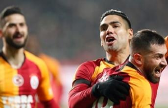 Konyaspor-Galatasaray: 0-3 (Falcao, Emre Akbaba, Adem) Fatih Terim Açıklamalar, Hedef Şampiyonluk!