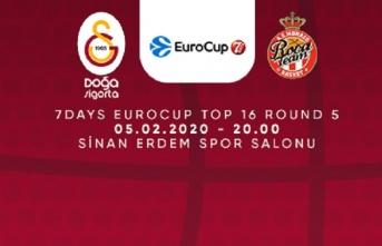 Maça doğru | Galatasaray Doğa Sigorta – AS Monaco