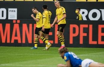 Dortmund'dan derbi zaferiyle muhteşem geri dönüş!