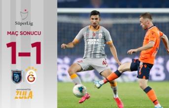 Başakşehir-Galatasaray: 1-1