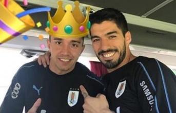 Luis Suarez'dan Muslera'ya mesaj