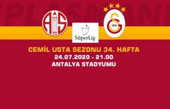 Maça Doğru | Fraport TAV Antalyaspor - Galatasaray