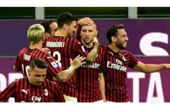 Milan'dan Juventus karşısında tarihi galibiyet