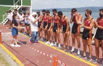 Gençler Türkiye Kupası Kürek Yarışları'na Galatasaray damgası
