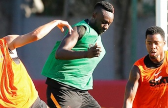 Mbaye Diagne 5 saat önce idmanda!