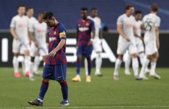 Tarihi yazıldı! Barcelona 2-8 Bayern Münih