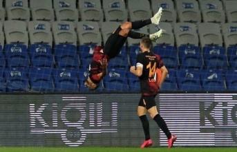 Galatasaray'da Younes Belhanda sevinci