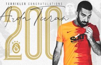 Arda Turan, Galatasaray ile 200. maçına çıktı