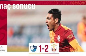 Erzurumspor-Galatasaray: 1-2 (Falcao'dan Müthiş Gol ve Kırmızı Kart, Belhanda, Fatih Terim)