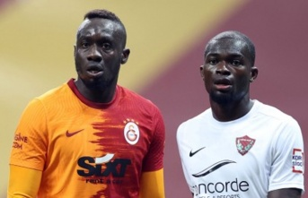Mbaye Diagne'den maç sonrası açıklamalar