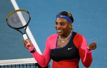 Avustralya Açık'ta Serena Williams yarı finalde