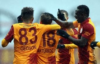 Galatasaray'dan şut rekoru
