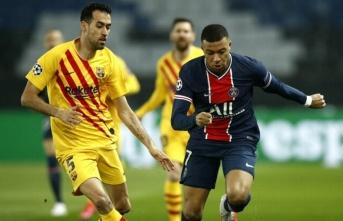 PSG, Barcelona'yı eledi! Kylian Mbappe tarihe...