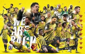 1 yıl aradan sonra Premier Lig'deler!